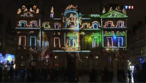 Lyon : coup d'envoi de la fête des Lumières