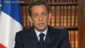 Nicolas Sarkozy voeux 2009