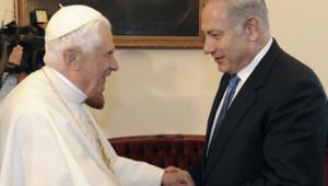 pape benoît xvi netanyahu