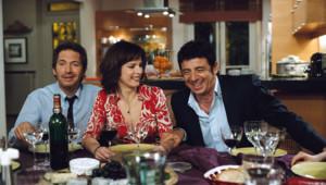 Christopher Thompson, Karin Viard et Patrick Bruel dans le film Le Code a changé