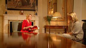 J.K. Rowling répond aux questions de Cathelyne Hémery pour le 20h de TF1