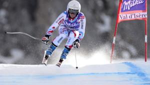 La vice-championne du monde de super-G Marie Marchand Arvier