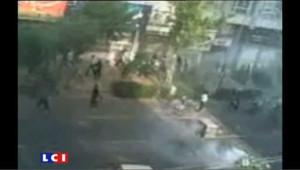 Les images des heurts entre policiers et manifestants