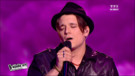 Manurey interprète Viva la vida de Coldplay lors du premier live de The Voice 2