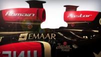 Romain Grosjean Pastor Maldonado Lotus F1 2014