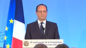 François Hollande, le 03 octobre 2013
