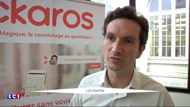 """""""Karos"""", le BlaBlaCar pour les trajets du quotidien"""