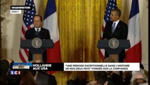 """Politique internationale : Obama remercie Hollande pour """"avoir été un partenaire aussi fort"""""""