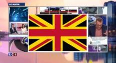 Quel drapeau britannique sans l'Ecosse ?