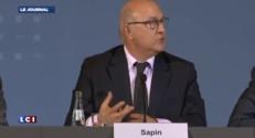 """Sapin : """"Mettre en oeuvre des outils nouveaux"""" pour attirer l'investissement privé"""