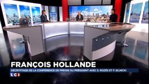"""Hollande face aux journalistes : """"Rien n'est fait pour convaincre les Français"""""""