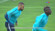 Le 20 heures du 4 septembre 2015 : Football : rentrée des classe pour l'équipe de France - 1432