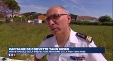 Méditerranée : le patrouilleur français et les 217 migrants de retour au port