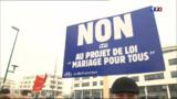 Les anti-mariage gay annoncent une nouvelle manifestation
