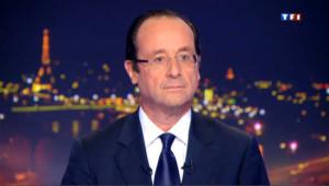 """Hollande sur TF1 : """"Rien ne m'atteint"""""""