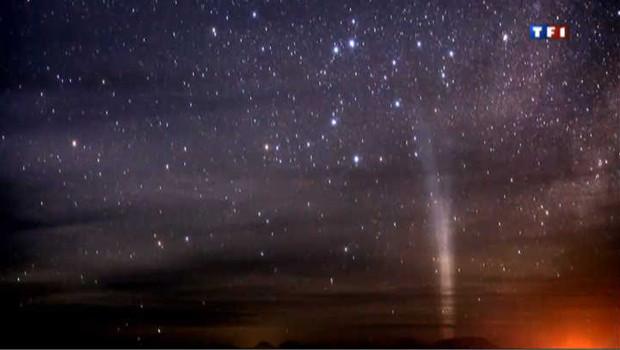 Image rare d'une comète visible e, 2011 à l'oeil nu dans l'hémisphère sud
