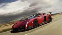 Lamborghini Veneno Roadster, version découvrable éditée à 9 exemplaires en automne 2013