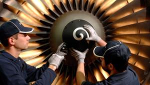 Maintenance d'une turbine Safran
