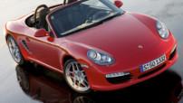 Porsche Boxster S génération 2009, avec moteur 6 cylindres 3,4 litres 310 chevaux.