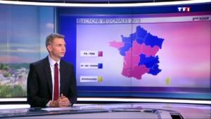 Régionales : une France coupée en trois