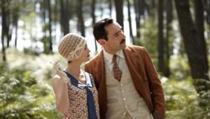 Audrey Tautou et Gilles Lellouche dnas le film Thérèse Desqueyroux de Claude Miller