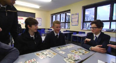 Le 13 heures du 28 janvier 2015 : Le modèle scolaire britannique, un exemple à suivre ? - 752.115