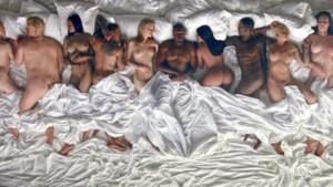 Capture du clip Famous de Kanye West