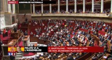 """Felipe VI à l'Assemblée : """"L'histoire de l'Espagne est jalonnée d'excellence"""", affirme Bartolone"""
