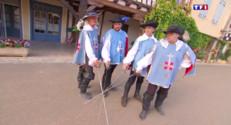 Le 13 heures du 4 août 2015 : De Lupiac à Maarstricht, un pour tous, tous pour un : D'artagnan fête ses 400 ans - 1352