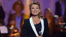 Sheila aux Victoires de la musique en 2013.