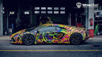 Un V12 de 700 chevaux, un 0-100 expédié en seulement 2,9 petites secondes et une vitesse de pointe de 350 km/h... Forcément, ça fait mal de voir une Lamborghini Aventador finir comme ça.