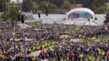 Ultime messe en plein air pour le pape à Birmingham
