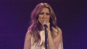 Céline Dion en concert à Paris-bercy le 25 novembre 2013