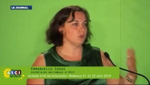 Emmanuelle Cosse clôture les journées d'été des écologistes
