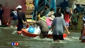 La Thaïlande sous les eaux depuis deux mois