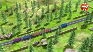 A fond les pistons - Chuggington
