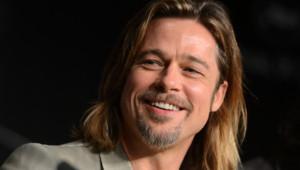 Brad Pitt lors de la conférence de presse du film Cogan - La mort en douce à Cannes 2012