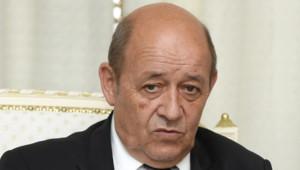 Jean-Yves Le Drian à Tunis en juin 2015