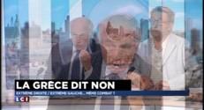 """La Grèce dit non : """"Mélenchon fait le même jeu que Philippot"""""""