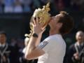 Andy Murray, vainqueur de Wimbledon le 7 juillet 2013.