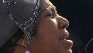 Aretha Franklin investiture obama