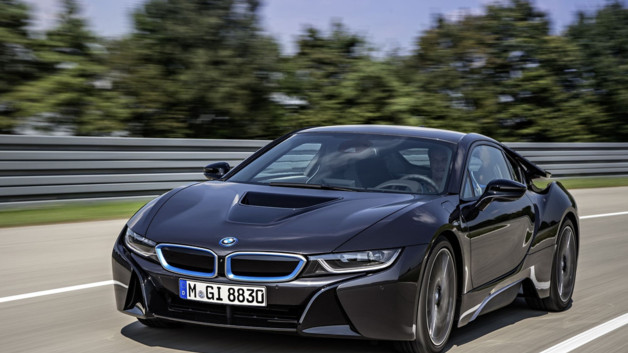 photos automoto la bmw i8 2013 en images officielles mytf1. Black Bedroom Furniture Sets. Home Design Ideas
