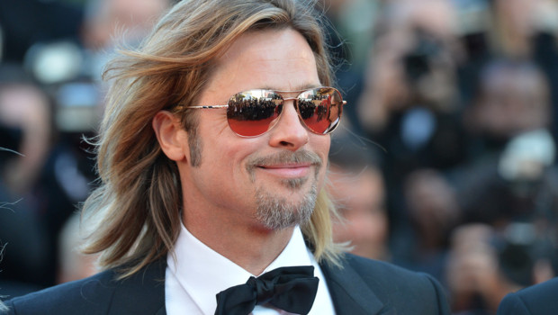 Brad Pitt sur la tapis rouge du Festival de Cannes 2012 - Montée des marches Cogan, la mort en douce