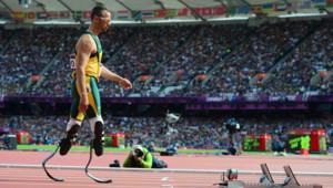 Oscar Pistorius aux JO, le 4 août 2012.