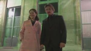 Ségolène Royal et Sean Penn