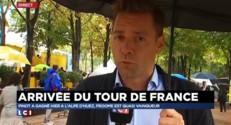 Tour de France : une arrivée attendue mais pluvieuse, attention à la patinoire