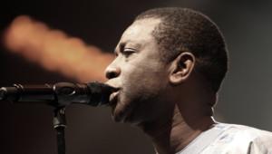 Youssou Ndour lors d'un concert en octobre 2010 à Marseille