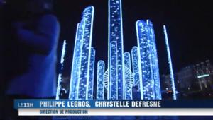 Le 13 heures du 12 décembre 2014 : Clermont illumin�- 2453.351