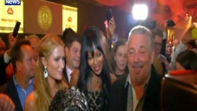 Paris Hilton et Naomi Campbell rencontrent le fils de Castro au festival du cigare de Cuba