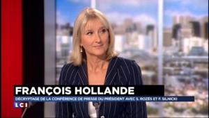 Pourquoi Hollande a surtout parlé de politique internationale devant la presse